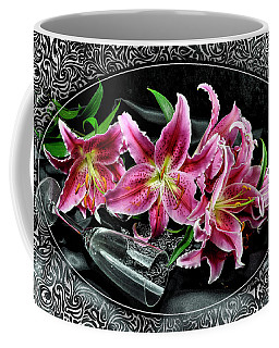 Coffee Mug featuring the photograph Le Dernier Verre#3 by Karo Evans