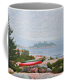 Le Hayes Island Coffee Mug by Kenneth M Kirsch
