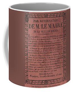 Le Maire Balloon Race Coffee Mug