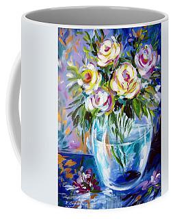 Le Rose Bianche Coffee Mug by Roberto Gagliardi