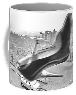 Flying Stiletto Coffee Mug by Don Pedro De Gracia