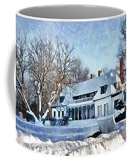 Leacock Museum In Winter Coffee Mug