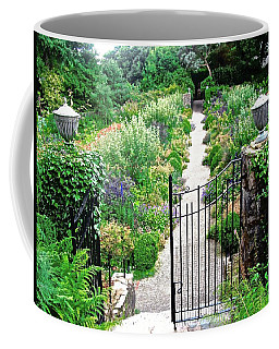 Coffee Mug featuring the photograph Lead Me Down The Garden Path by Stephanie Moore
