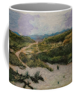 Coffee Mug featuring the painting Lead Me To Tranquility by Ron Richard Baviello