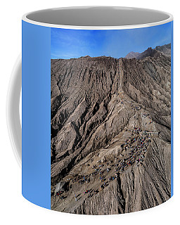 Coffee Mug featuring the photograph Leading To The Volcano Crater by Pradeep Raja Prints