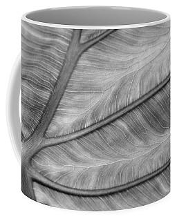 Leaf Abstraction Coffee Mug