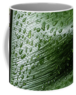 Leaf Droplets II Coffee Mug