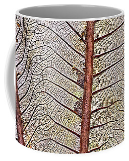 Leaf Lines Of Saba Coffee Mug