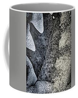 Leaf On Ice Coffee Mug