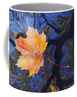 Leaf On The Water Coffee Mug