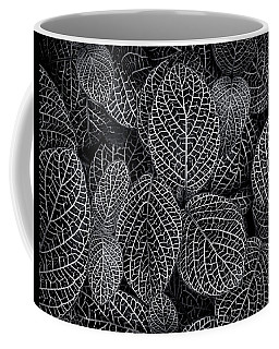 Coffee Mug featuring the photograph Leaf Pattern by Wayne Sherriff