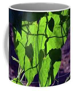 Leaf Shadows Coffee Mug