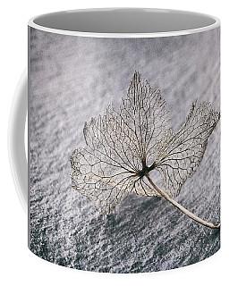 Leaf Skeleton Coffee Mug by Karen Stahlros