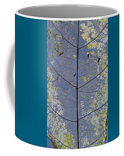 Leaf Structure Coffee Mug