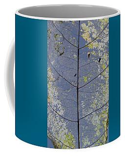 Leaf Structure Coffee Mug