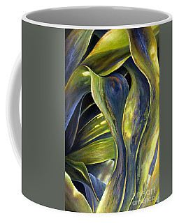 Leafy Entanglement Coffee Mug by Valerie Travers
