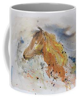 Leafy Horse Coffee Mug