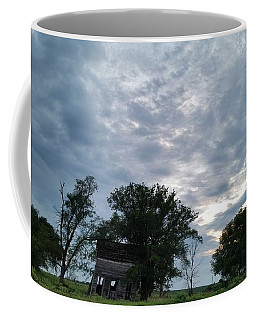 Coffee Mug featuring the photograph Lean Into It by Caryl J Bohn