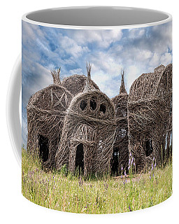 Lean On Me - Stick House Series 1/3 Coffee Mug