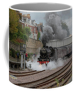 Leander At Scarborough  Coffee Mug