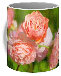 Leander English Rose Coffee Mug