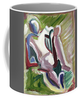 Leaning Back Coffee Mug