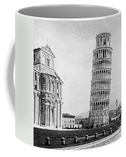Leaning Tower Of Pisa Italy - C 1902  Coffee Mug by International  Images