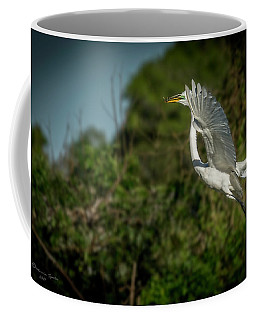 Coffee Mug featuring the photograph Leap Of Faith by Marvin Spates