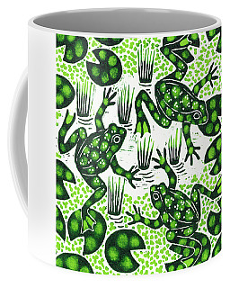 Leaping Frogs Coffee Mug