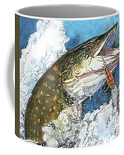 leaping Pike Coffee Mug