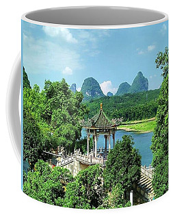 A View In Yangshuo Coffee Mug