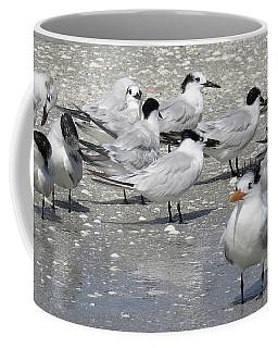 Least Terns Coffee Mug by Melinda Saminski