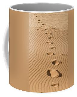 Leave Only Footprints Coffee Mug