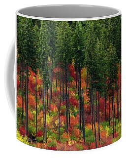 Leavenworth Checkerboard Coffee Mug