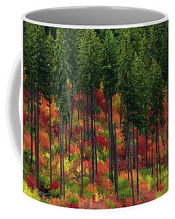 Leavenworth Checkerboard Coffee Mug