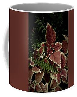 Leaves And Fronds Coffee Mug