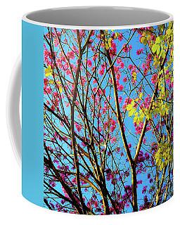 Leaves And Trees 980 Coffee Mug