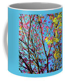 Coffee Mug featuring the photograph Leaves And Trees 980 by D Davila