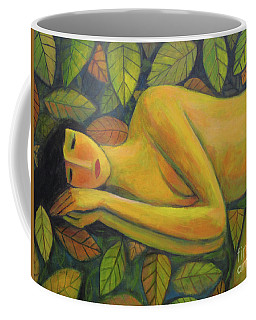 Leaves Of Absence Coffee Mug by Glenn Quist