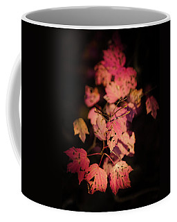 Coffee Mug featuring the photograph Leaves Of Surrender by Karen Wiles