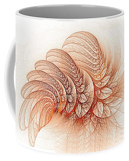 Leaves Of The Fractal Ether-2 Coffee Mug