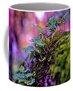 Leaves On A Log Coffee Mug