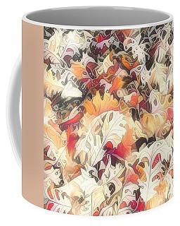 Leaves On The Ground Coffee Mug