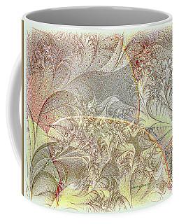 Leaves On The Petals Coffee Mug