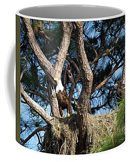 Leaving Nest Coffee Mug by Ronald Lutz