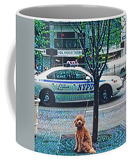 Leaving Nyc Coffee Mug