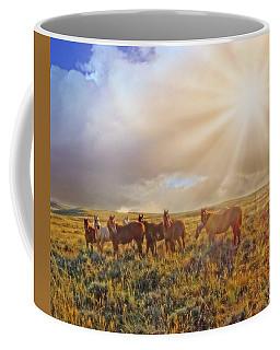 Led By The Light Coffee Mug
