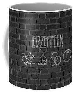 Led Zeppelin Brick Wall Coffee Mug