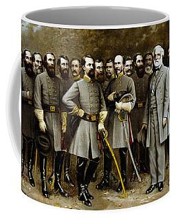 Robert E. Lee And His Generals Coffee Mug