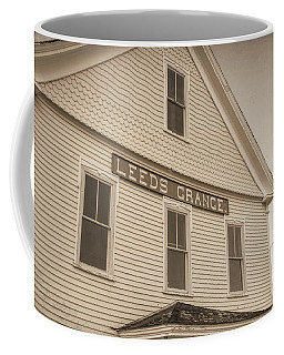 Coffee Mug featuring the photograph Leeds Grange by Guy Whiteley